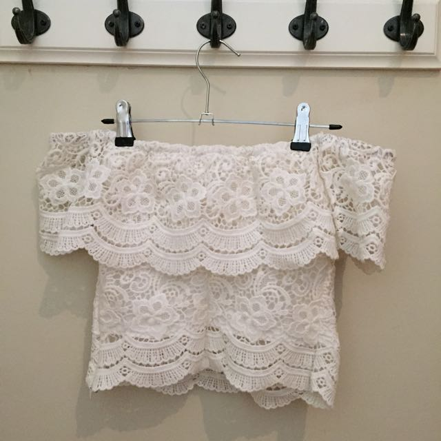 Lacy Off shoulder