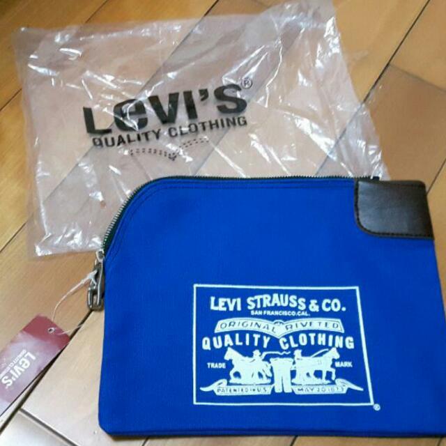 Levi's  收納包  文件袋(待匯)