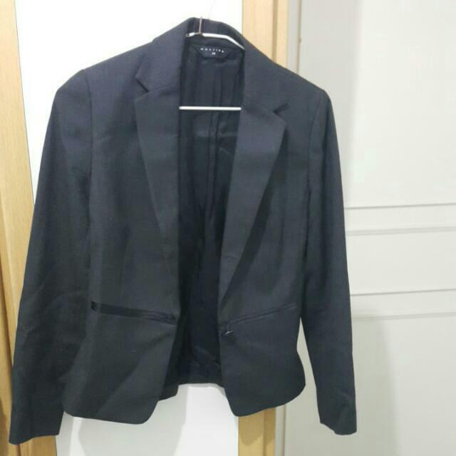 (降價)MASTINA 34號黑色套裝