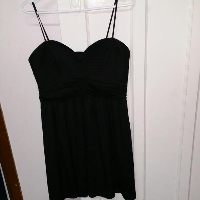 Portmans Mini Black Dress