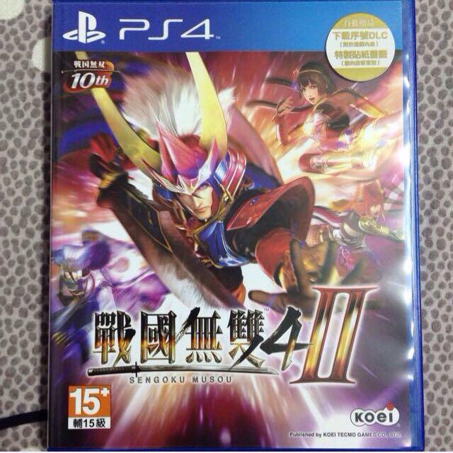 PS4 戰國無雙4-II 中文版二手
