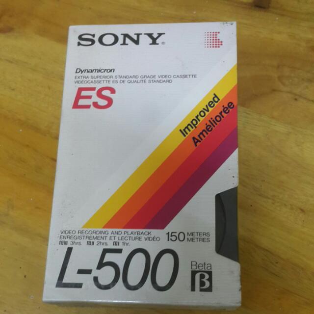 全新《SONY》ES/L-500 Beta 降價!!