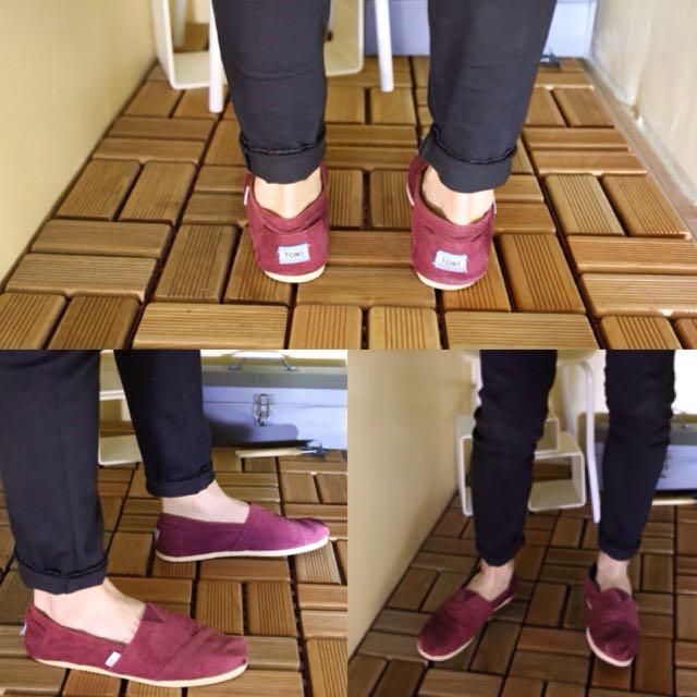 正版二手Toms 28號 附鞋盒