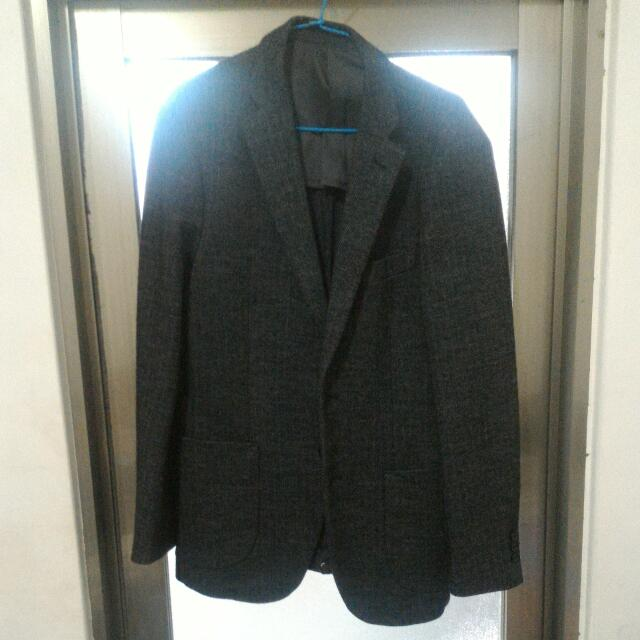 UNIQUE 羊毛保暖大衣