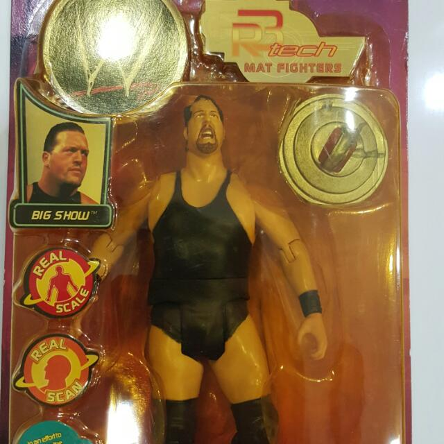 Wwe Wwf Ecw Wcw Wrestling Big Show Toys Games On Carousell