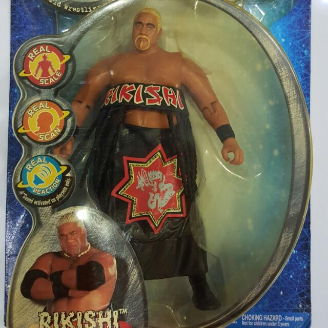 Wwf Wwe Wcw Ecw R3 Tech Rikishi Toys Games On Carousell