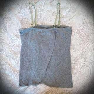 灰色棉質小可愛