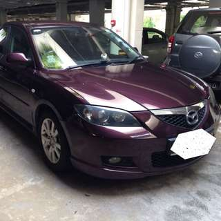 For Uber And Grab - Mazda 3 1.6A