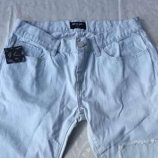 Nasty gal Light Denim Jeans!