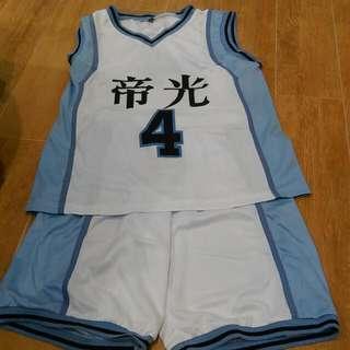 帝光 赤司籃球服整套(含運)
