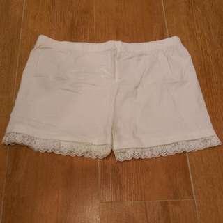 白色安全褲