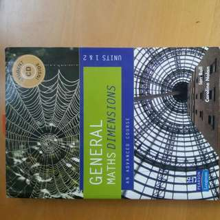 General Maths Dimensions textbook