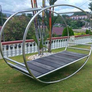 Unique SUS Garden Swing