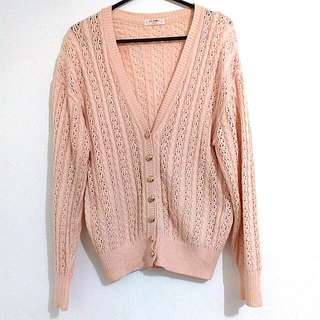 [SALE!] Cardi Rajut Soft Cream