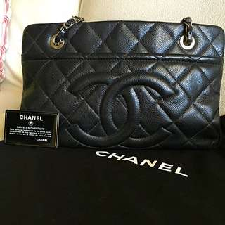Authentic Chanel Caviar Bag SHW