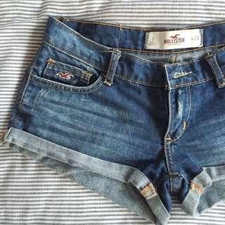 (已預訂)Hollister牛仔小短褲 S