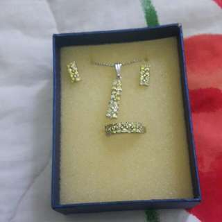 Set (Chain, Ring & Earrings)