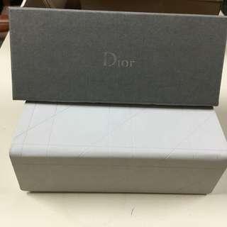 Dior 眼鏡盒 紙盒