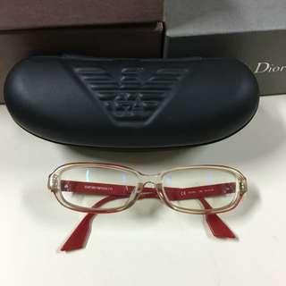 Emporio Armani 眼鏡含眼鏡盒