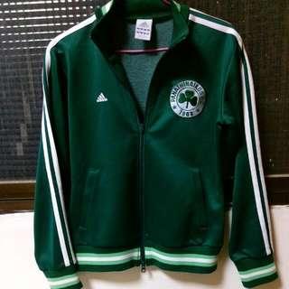 絕版Adidas深綠色運動外套S