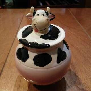 乳牛糖罐/收納罐