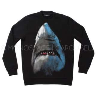 Givenchy Inspired Black Shark Sweater