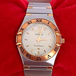 Omega Constellation Two Tone Quartz Watch