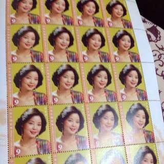 鄧麗君郵票