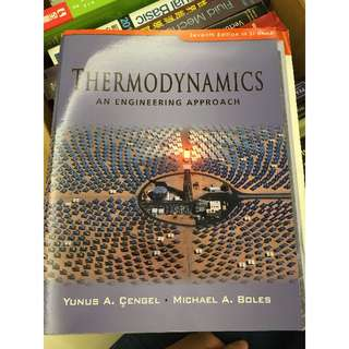 Thermodynamics: An Engineering Approach 7th