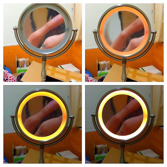 觸碰3段發光鏡子