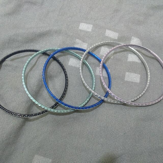 金屬水鑽手環