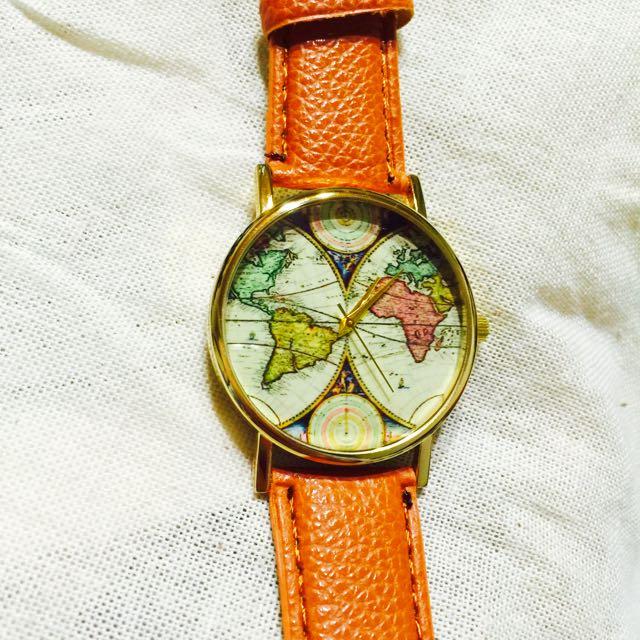 復古地圖錶