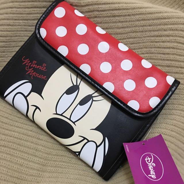 日本代購 迪士尼米妮旅遊組收納包