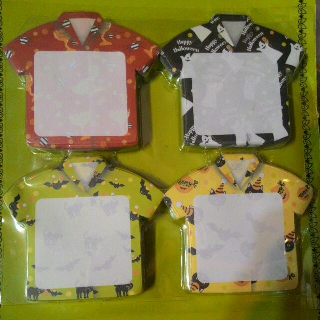 便條紙-衣服造型萬聖節款
