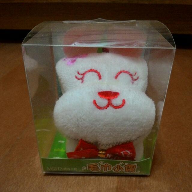 (降價)毛巾小偶-小兔子