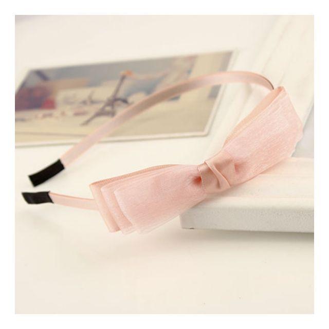 (預購)韓版多層蝴蝶結緞帶髮箍