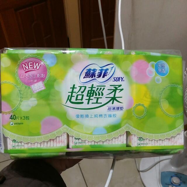 蘇菲 超輕柔 超薄 護墊    日本水玉點點包裝