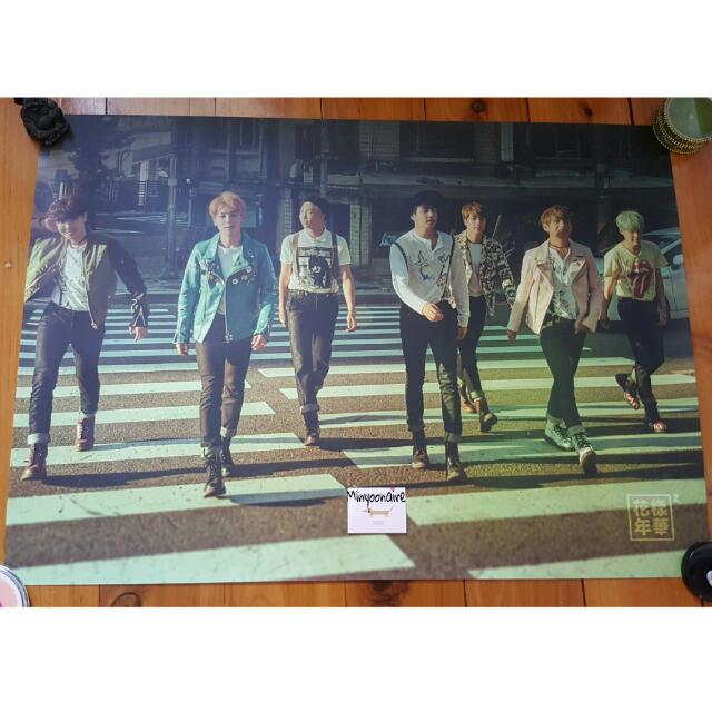 BTS/Bangtan Boys Official Hyyh Pt. 2 Group Poster