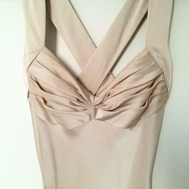 Calvin Klein Silk Ball Gown