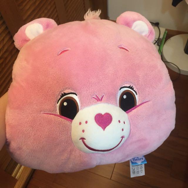 Care Bears 粉紅色暖手枕