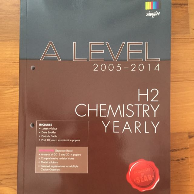 Chemistry a level 10 year series 2005 2014 books stationery photo photo urtaz Image collections
