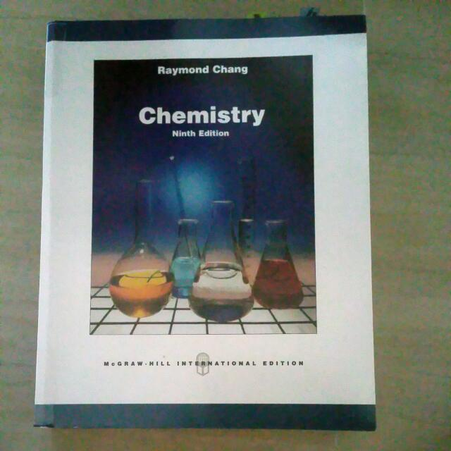 Chemistry Raymond Chang 9th Edition Books Stationery