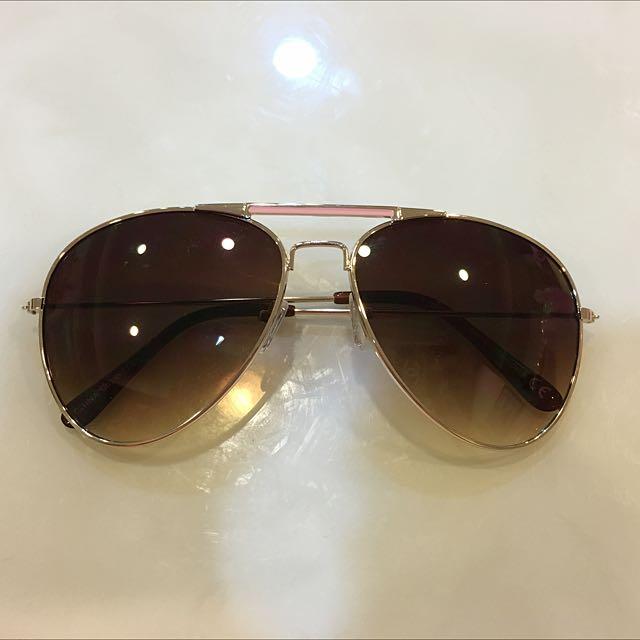 Forever21粉色雷鵬款太陽眼鏡