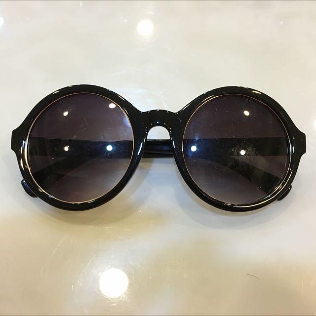 Forever21復古圓框太陽眼鏡(大出清又降只要250)
