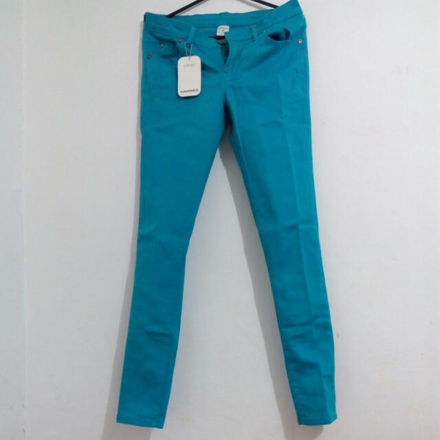 [SALE!] Hammer Turquoise Jeans Size 29