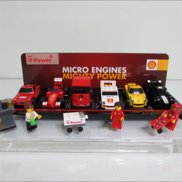 Lego Shell V-Power Ferrari 30190,30191,30192,30193,30194,30195,30196 Collection