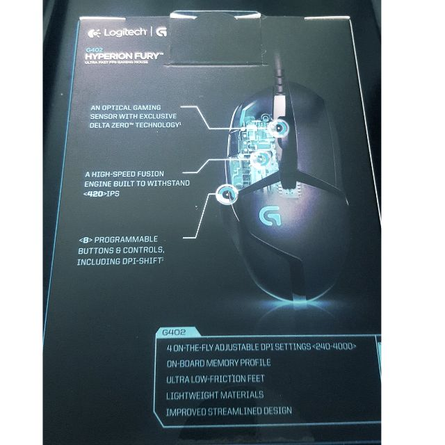Logitech G402 Gaming Mouse (FPS mouse), Electronics on Carousell