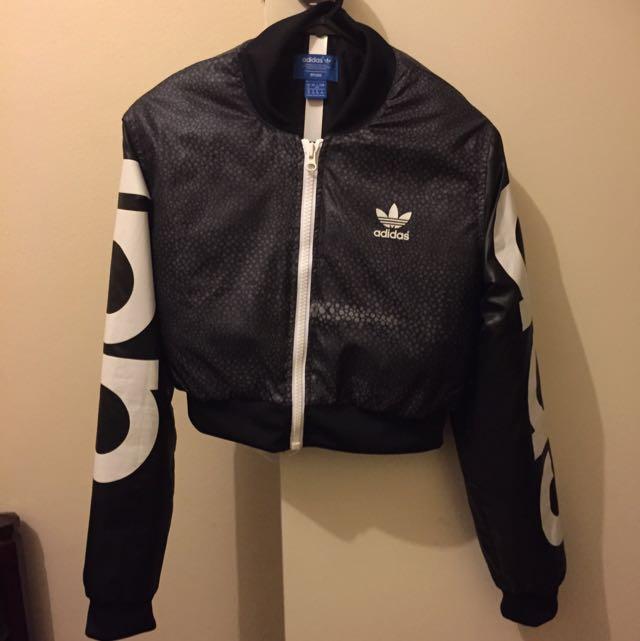 Rita Ora Mystic Moon Adidas Crop Jacket