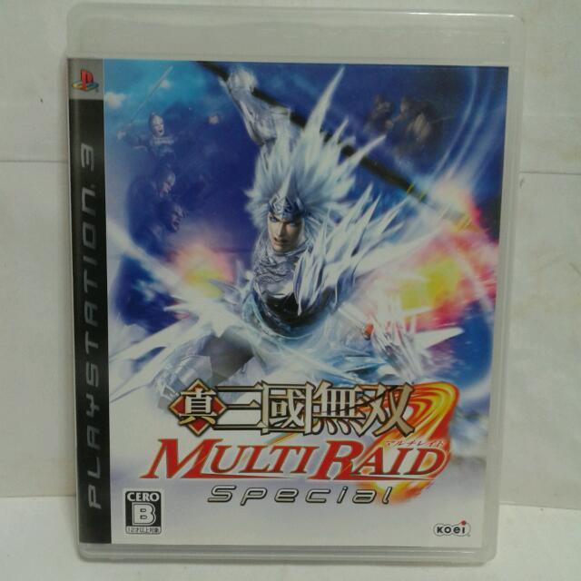 PS3遊戲 真三國無雙 連袂出擊 日版 二手