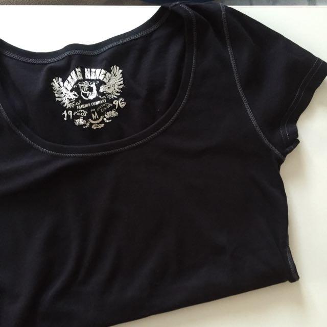 圓領短袖T恤(有彈性材質)⚡️